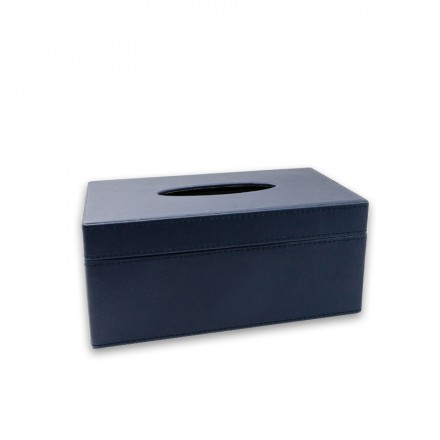 Tissue Box - Navy